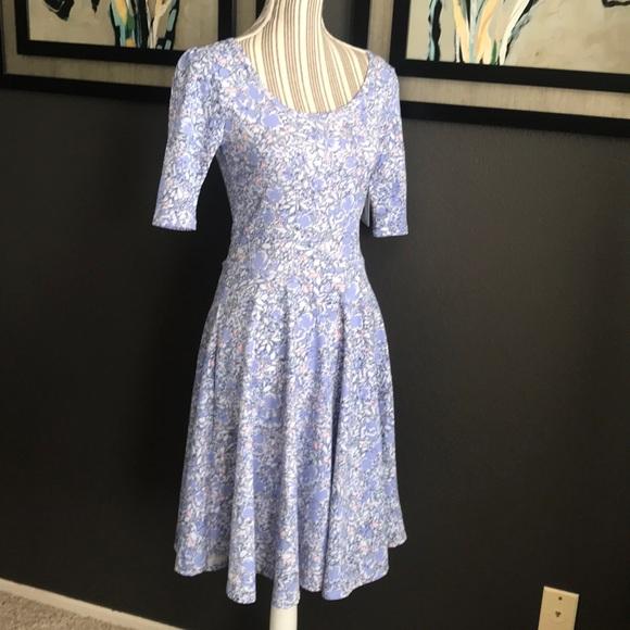 LuLaRoe Dresses & Skirts - 🔥 SALE - LuLaRoe Nicole dress, floral, pastels